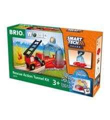 BRIO -  Smart Tech Sound Rescue Action Tunnel Kit (33976)