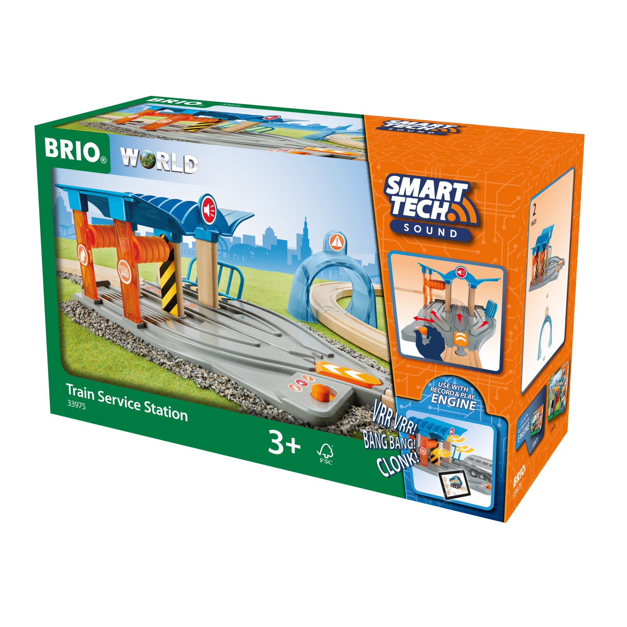 BRIO - Smart Tech Sound Togservicestation (4-33975)