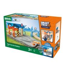BRIO - Smart Tech Sound Train Service Station (33975)