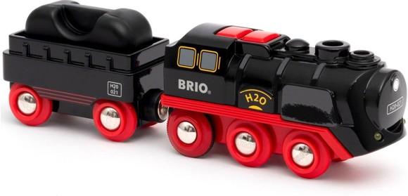 BRIO - Batteridrevet damptog (4-33884)