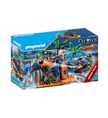 Playmobil - Piratø med Skatteskjul (70556)