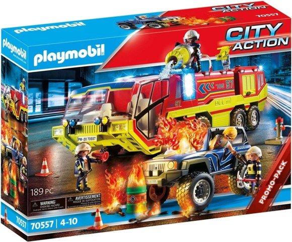 Playmobil - Fire Engine with Truck (70557)