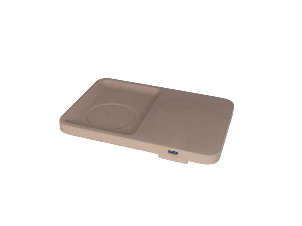 LIKEconcrete - Karin Wireless Charger - Mocca (93779)