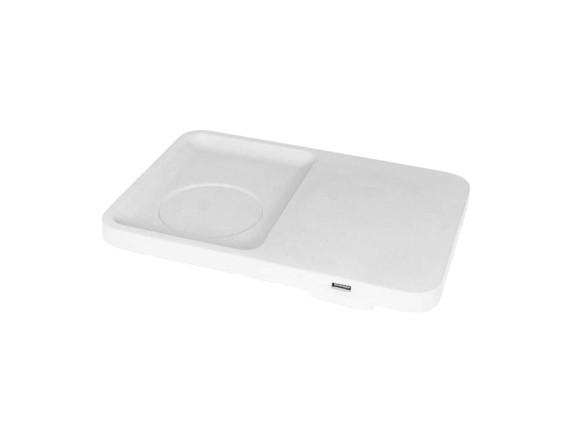 LIKEconcrete - Karin Wireless Charger - White (93781)