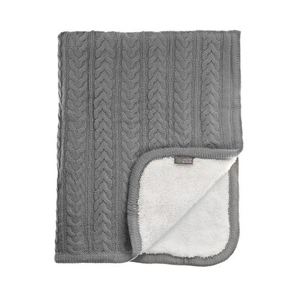 Vinter & Bloom - Cuddly Blanket - Dove Grey