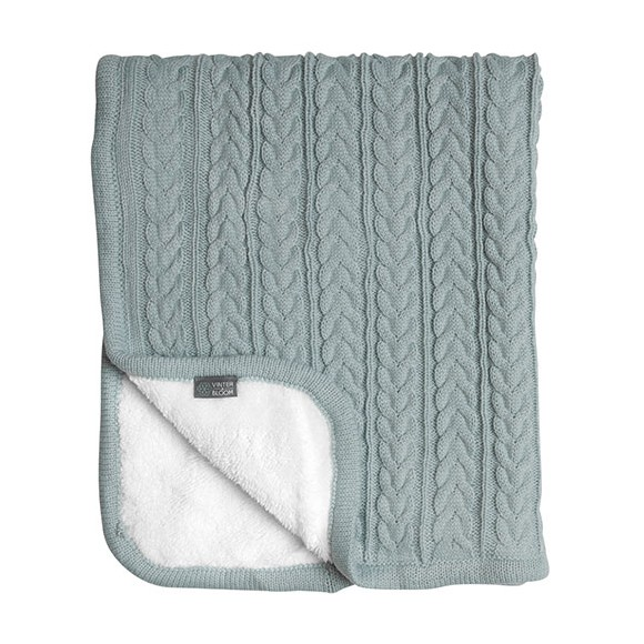 Vinter & Bloom - Cuddly Blanket - Sage Green