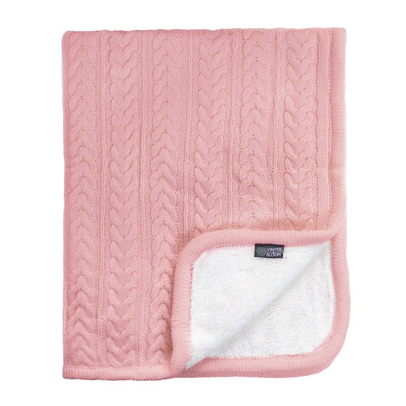 Vinter & Bloom - Cuddly Blanket - Dusty Rose