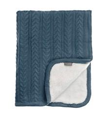 Vinter & Bloom - Cuddly Blanket - Storm Blue