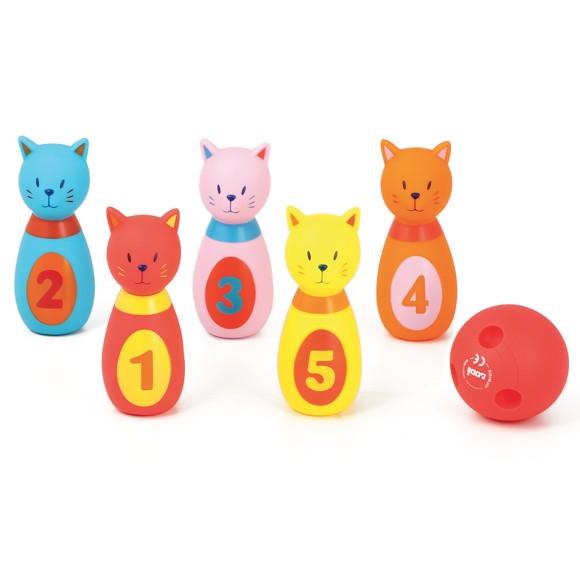 Ludi - Baby bowling, Cat (3450)