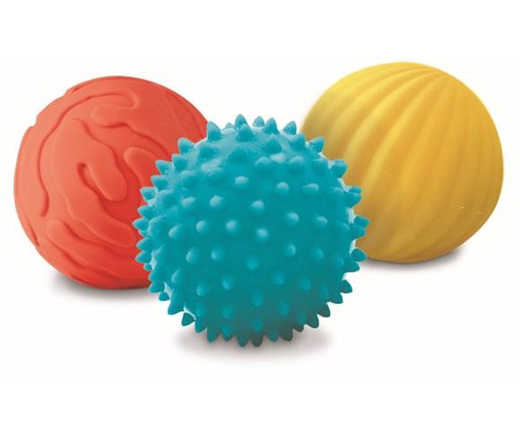 Ludi - 3 littles sensories balls (30008)