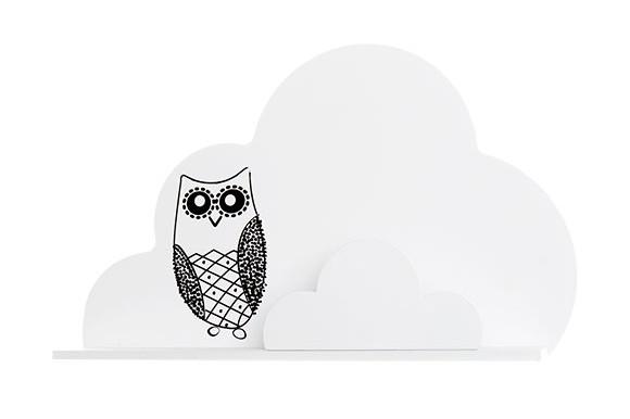Vinter & Bloom - Sky Væghylde Skov Kollektion - White