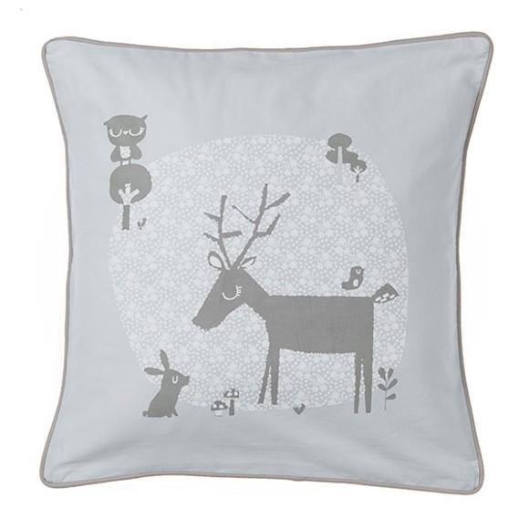 Vinter & Bloom - Forest Friends Baby Bedding Pillow - Bluebell