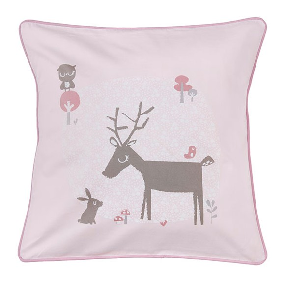 Vinter & Bloom - Forest Friends Baby Bedding Pillow - Blossom