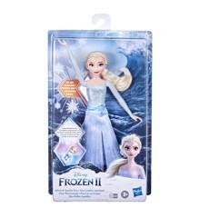 Disney Frozen 2 - Splash And Sparkle Elsa Doll (F0594)