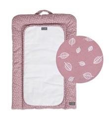 Vinter & Bloom - Nordic Leaf Puslemåtte - Soft Pink
