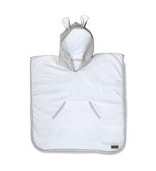 Vinter & Bloom - Nordic Leaf Towel Poncho - Calm Grey