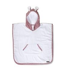 Vinter & Bloom - Nordic Leaf Towel Poncho - Soft Pink