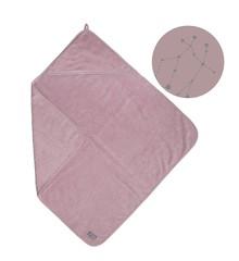 Vinter & Bloom - Northern Lights badehåndklæde m. Hætte - Stella Pink