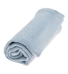 Vinter & Bloom - Filt Soft Grid Blanket ECO - True Blue