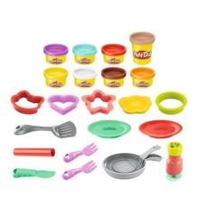 Play-Doh - Flip N' Pancakes Playset (F1279)