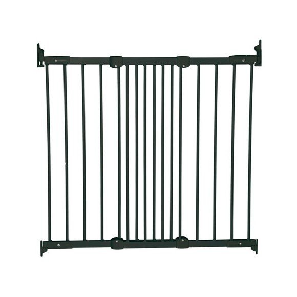 Baby Dan - Safety Gate - Flexi Fit metal Black - 67-105,5 cm (55116-2600-10)