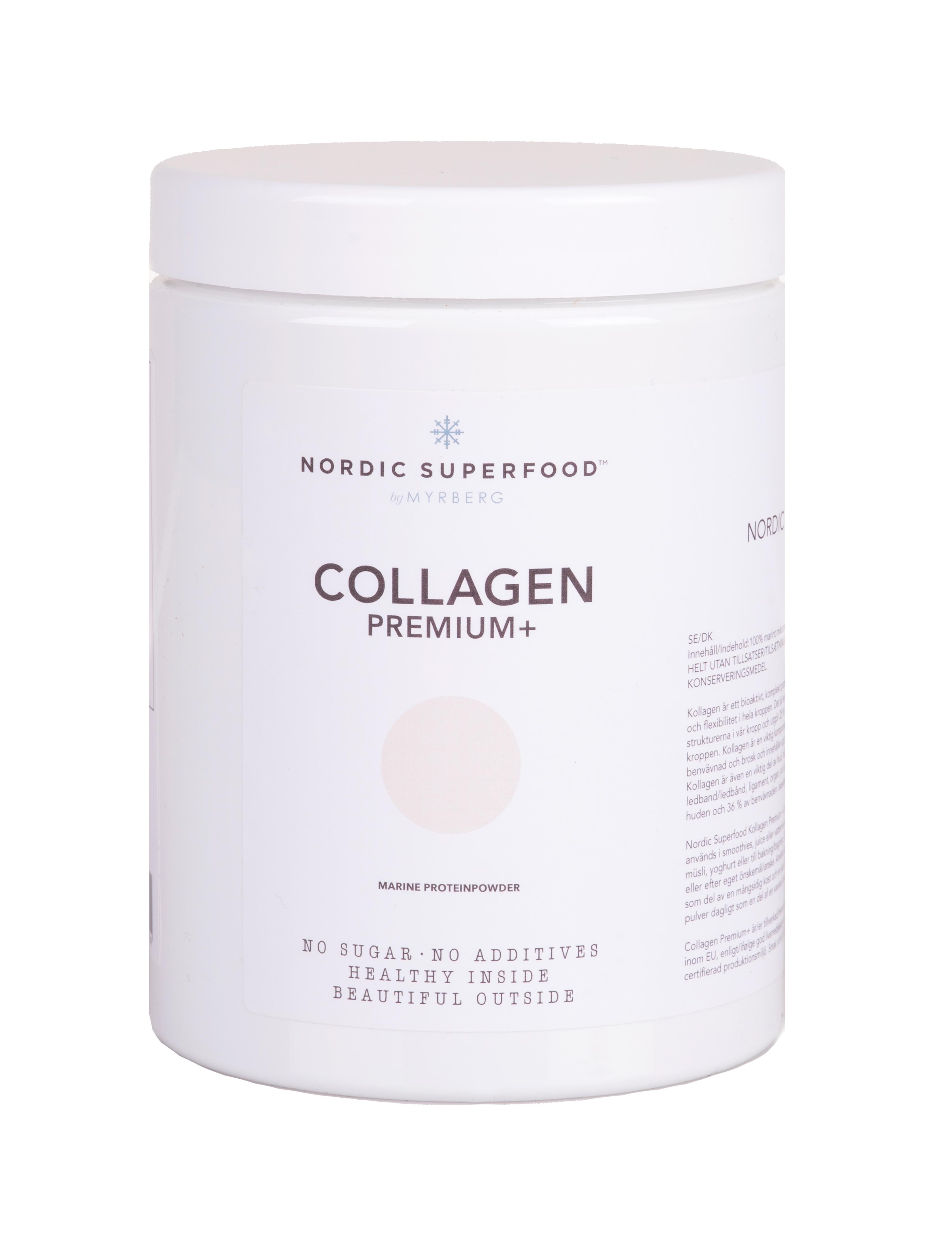 Nordic Superfood Collagen Premium Marine Proteinpulver