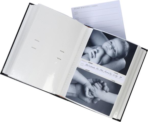 Focus - Exclusive Line 200 10x15 Photo Album - Black