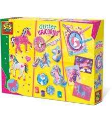 Ses Creative - Glitter unicorns 3 in 1 (S14719)