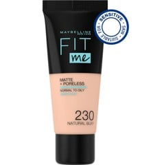 Maybelline - Fit Me Matte + Poreless Foundation - 230 Natural Buff