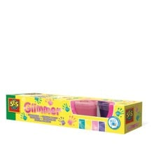Ses Creative - Fingermaling - Glitter 4 x 110 ml
