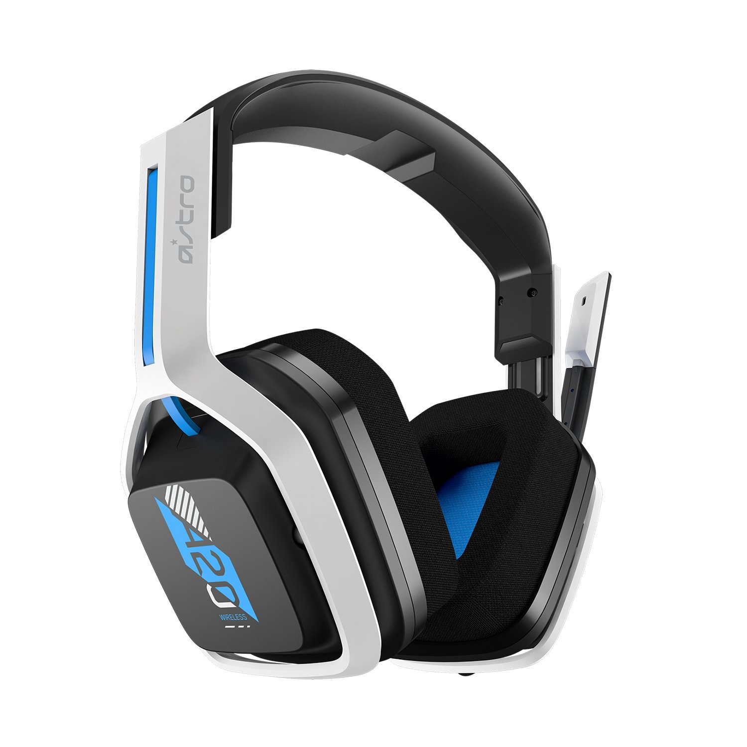 Billede af ASTRO Gaming A20 Wireless Headset Gen 2 for PlayStation 5/PlayStation 4/PC/Mac - White/Blue