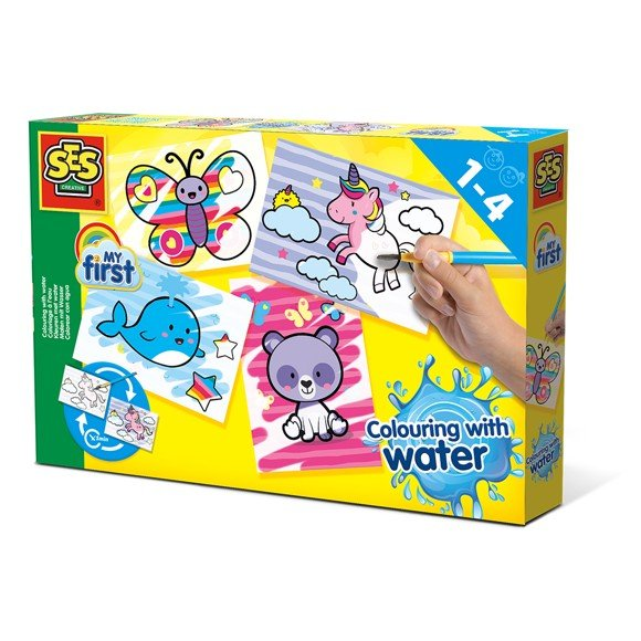 Ses Creative - My First - Colouring with water - Fantasy animals (S14454)