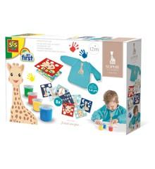 Ses Creative - Sophie la girafe - Fingerpaint set (S14494)