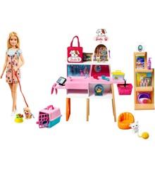 Barbie - Kæledyrs Butik Legesæt (GRG90)