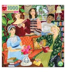 eeBoo - Puslespil - Jane Austen's Bogklub, 1000 brikker
