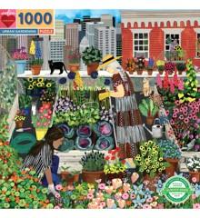 eeBoo - Puzzle - Urban Gardening, 1000 pcs (EPZTUBG)