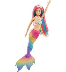 Barbie - Dreamtopia Rainbow Magic Havfrue (GTF89)