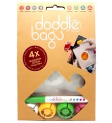 Doddle - Doddlebags Madposer 200 ml 4 stk