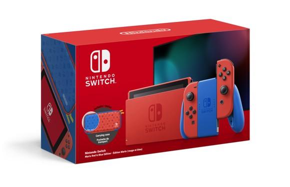 Nintendo Switch Console Mario Red & Blue Joy-Con Edition