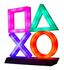 Playstation Gaming Lamp Icons XL Multicolor