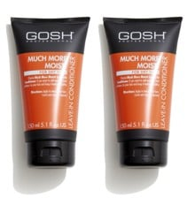 GOSH - 2 x Much More Moist Leave-in Conditioner 150 ml