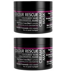 GOSH - 2 x Colour Rescue Cream Mask 175 ml