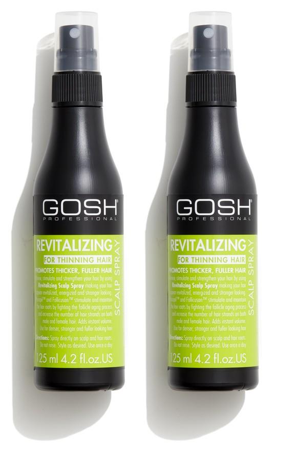 GOSH - 2 x Revitalizing Scalp Spray 125 ml