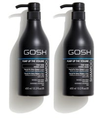 GOSH - 2 x Pump Up The Volume Shampoo 450 ml