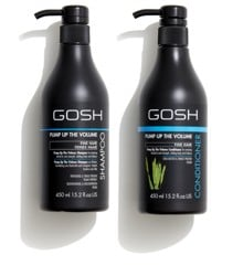 GOSH - Pump Up The Volume Shampoo 450 ml + Pump Up The Volume Conditioner 450 ml