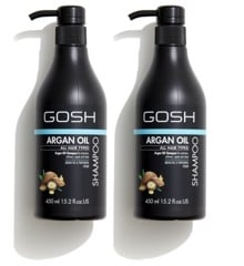 GOSH - 2 x Argan Oil Shampoo 450 ml