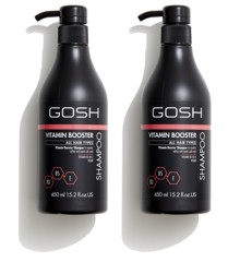 GOSH - 2 x Vitamin Booster Shampoo 450 ml