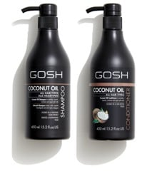 GOSH - Coconut Oil Shampoo 450 ml + Coconut Oil Conditioner 450 ml