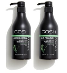 GOSH - 2 x Anti Pollution Shampoo 450 ml