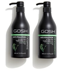 GOSH - Anti Pollution Shampoo 450 ml + Anti Pollution Conditioner 450 ml